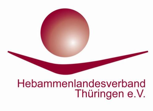Logo des Hebammenlandesverbandes Thueringen