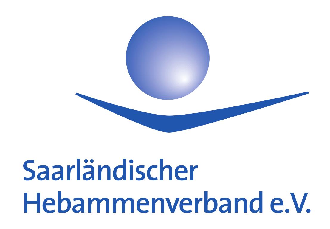 Logo des Saarländischen Hebammenverbandes